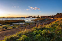BOSHAM, WEST SUSSEX/UK - DECEMBER 5 : A Winter`s Afternoon at Bo Stock Photo