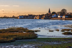 BOSHAM, WEST SUSSEX/UK - DECEMBER 5 : A Winter`s Afternoon at Bo Stock Photos