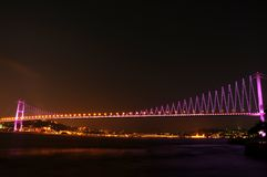 Boshporus bridge Royalty Free Stock Photos