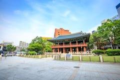 Bosingak Bell Pavillion el 19 de junio de 2017 en Seul, Corea del Sur Foto de archivo libre de regalías