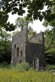 Bosjekolenmijn, stepaside, Wales Stock Foto's