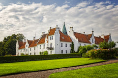 Bosjo convent and castle Royalty Free Stock Photo