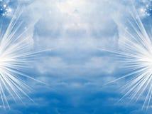 boski niebo ilustracja wektor