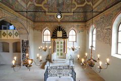 boskovice犹太教堂 免版税库存图片