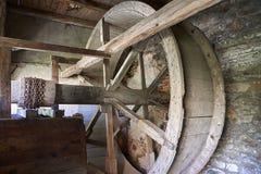 Boskovice,捷克- 2013年9月28日:13世纪哥特式城堡Boskovice hrad的废墟在南摩拉维亚,捷克语关于 免版税库存照片