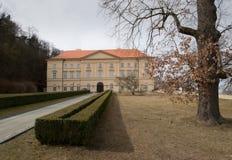 Boskovice stately home Stock Photos