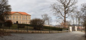 Boskovice stately home. In Czech Republic royalty free stock photo