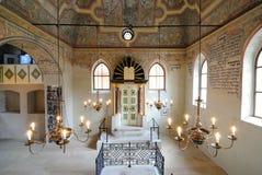 boskovicesynagoga royaltyfri bild