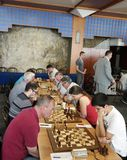 Bosna 2016 International chess tournament in Sarajevo Stock Images
