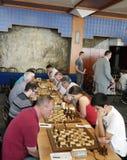 Bosna 2016 schaaktoernooien in Sarajevo Stock Afbeeldingen