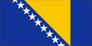 Bosnië-Herzegovina royalty-vrije illustratie