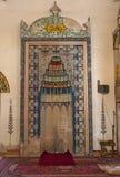 Mostar, Koski Mehmed Pasha Mosque, interiors, Bosnia and Herzegovina, Europe, islam, religion, place of worship. Bosnia, 5/07/2018: architectural details of the royalty free stock photos