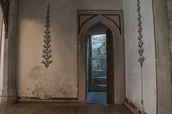 Mostar, Koski Mehmed Pasha Mosque, interiors, Bosnia and Herzegovina, Europe, islam, religion, place of worship. Bosnia, 5/07/2018: architectural details of the royalty free stock photo