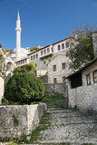 bosnia blisko pocitelj wioski Mostar obraz stock
