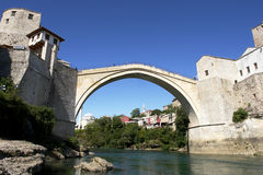 bosnia bridżowy Herzegovina Mostar obraz royalty free