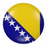 Bosnia button Royalty Free Stock Photo