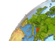 Bosnia on Earth Stock Image