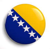Bosnia flag Royalty Free Stock Photo
