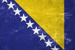 Bosnia and Herzegovina - Bosnian Flag Stock Photography