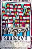 Bosnia and herzegovina, carpet, Stock Image