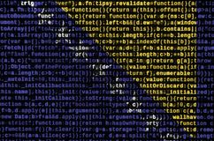 Bosnia and Herzegovina flag is depicted on the screen with the program code. The concept of modern technology and site. Development royalty free stock photography
