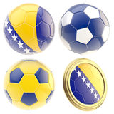 Bosnia and Herzegovina football team attributes Stock Image