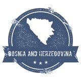 Bosnia and Herzegovina mark. Royalty Free Stock Image