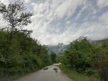 Bosnia roads stock photos