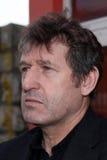 Bosnia - van Herzegovina de manager Safet Susic van het voetbalteam Stock Foto's