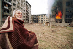 BOSNIAN CIVIL WAR Stock Image