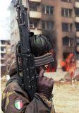 BOSNIAN CIVIL WAR stock photography