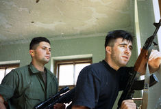 BOSNIAN CIVIL WAR Stock Images