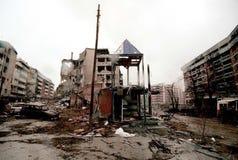 BOSNIAN CIVIL WAR Stock Photo