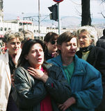 BOSNIAN CIVIL WAR Royalty Free Stock Photography