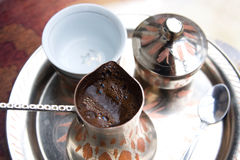 Bosnian coffee royalty free stock image
