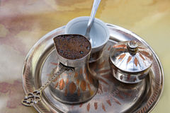 Bosnian coffee Stock Image