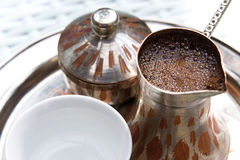 Bosnian coffee Royalty Free Stock Photo