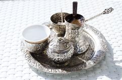 Bosnian coffee Stock Image