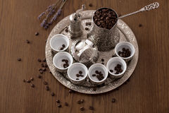 Bosnian coffee Royalty Free Stock Images