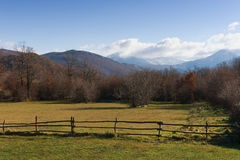 Bosnian countryside. Bosnia and Herzegovina Royalty Free Stock Image