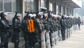 Bosnian demonstrations Stock Photography