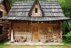 Bosnian Forest Hut Royalty Free Stock Photography