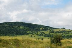 Bosnian Landscape Royalty Free Stock Photography