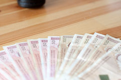 Bosnian money Stock Images