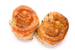 Bosnian speciality food burek Stock Photos