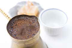 Bosnian turkish coffee Royalty Free Stock Image
