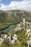 Bosnien - herzegovina pocitelj Arkivfoto