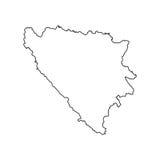 Bosnien-Herzegowina bilden ab lizenzfreie abbildung