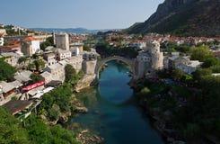 Bosnien mostar Royaltyfri Foto