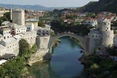 Bosnien mostar Arkivbilder